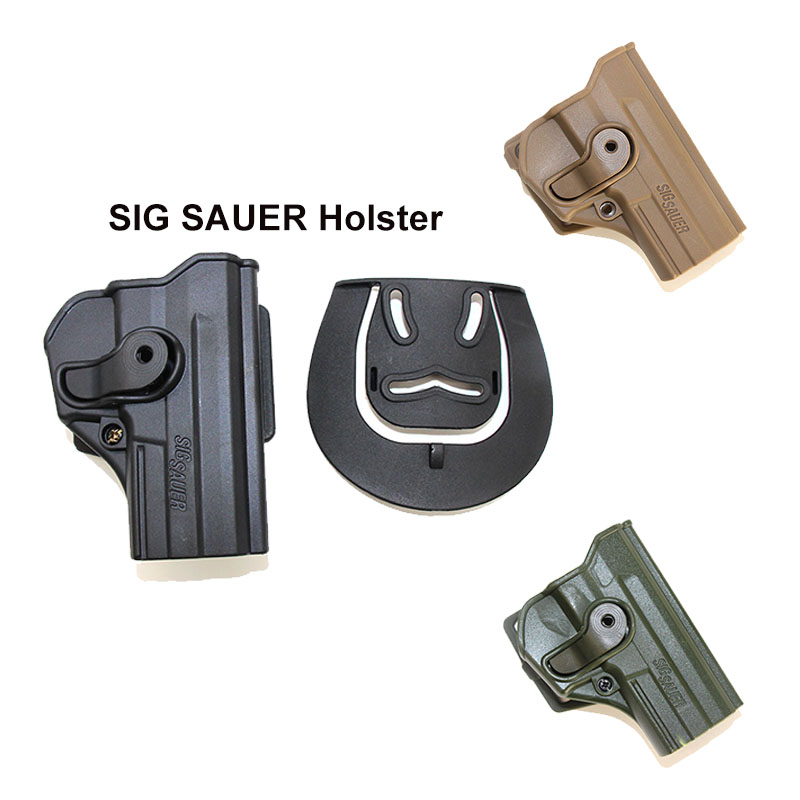 Military Concealment Gun Holster For Sig Sauer Pro SP2022 SP2009 P220 Right Tactical Airsoft Hunting Waist Paddle Pistol Holster
