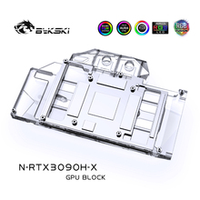 GPU Water-Block Bykski Reference-Edition Copper Card/full-Cover 3090/3080 NVIIDIA A-Rgb/rgb