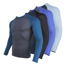 Compression-Shirt Training-Tights Gym Long-Sleeve Fitness Workout Quick-Drying Sports