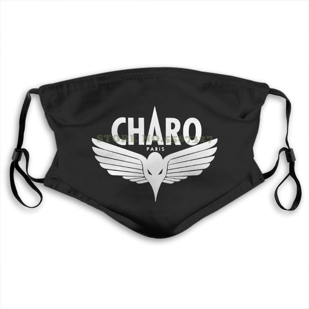 Face Mask Charo Niska Custom Black Size Printed Hipster Fashion Funny Design White Black Reusable Protective Masks