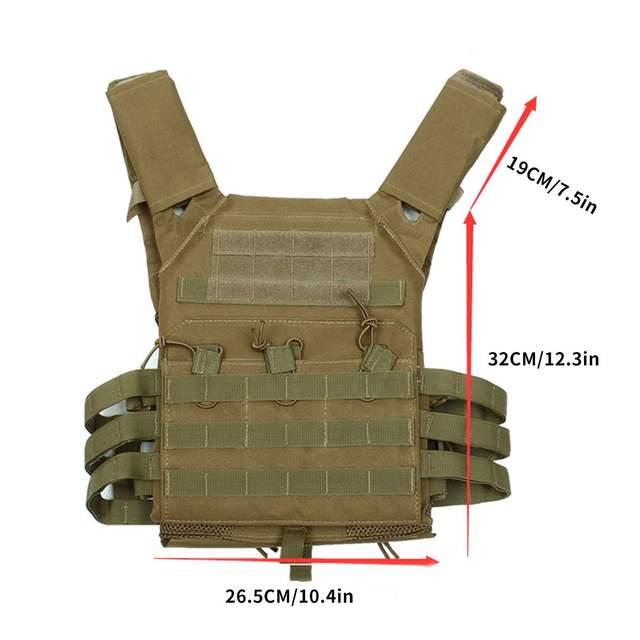 600d hunting tactical vest militar