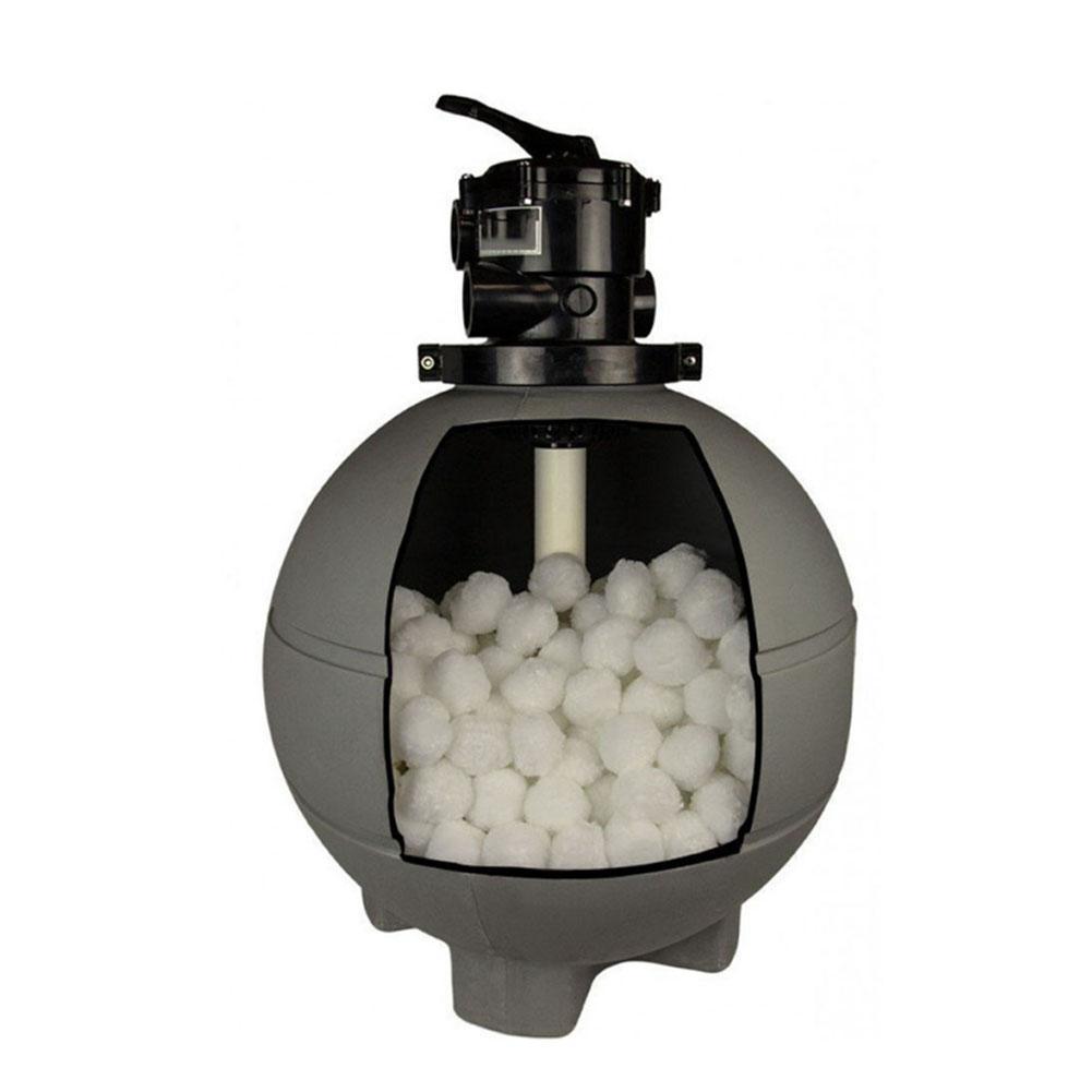 agregado familiar piscina filtro bola leve alta