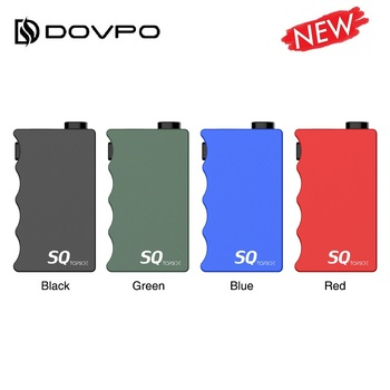 New Original DOVPO Topside SQ Squonk Box Mod with 10ml silicone bottle Power by one 21700 Battery Box Mod Vape vs DOVPO Topside