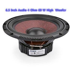 1 шт. 6,5 дюймов аудио автомобильный низкочастотный бас-динамик 4 Ом 60 Вт высокомощный музыкальный низкочастотный динамик из стекловолокна гр...