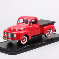 1:18 big classic Ford F 1 Pick Up truck 1948 f1 Bonus Built Diecasts & Toy Vehicles scale model car toys children of Collectible