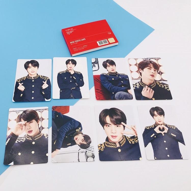 Kpop Bangtan Boys альбом LOVE YOURSELF Япония случайный альбом карта периферия - Цвет: JIN