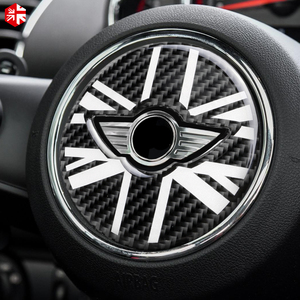 Image 3 - 3D наклейка на руль из углеродного волокна для MINI Cooper Countryman F60