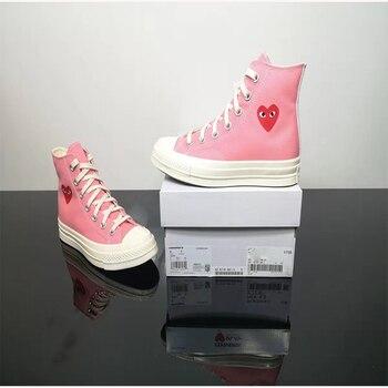 Converse-Zapatillas de Skateboard de lona para hombre y mujer, zapatos de ocio...