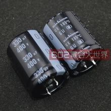 4pcs אמיתי NICHICON GU 400V330UF 30x40mm קבל אלקטרוליטי 330 uF/400 v CE 105 מעלות gu 400V 330UF