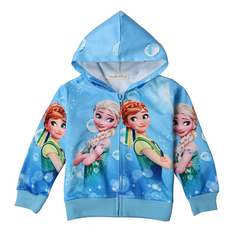 2 Colors Cartoon Snow White Girls Jackets Cute Halloween Princess Girls Coat Spring And Autumn Casual Thin Section Kids Clothes