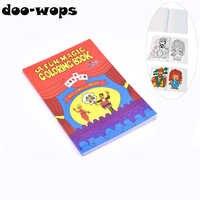 EIN Spaß Magie Malbuch Medium Größe (20,5 cm * 13,5 cm) magie Tricks Beste für Kinder Magie Bühne Gimmick Illusion Mentalismus Lustige