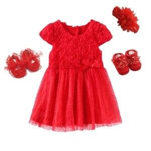 Vestidos e roupas bebê recém-nascido, vestido de aniversário para meninas de 2 anos, vestido branco verão, batismo, 2020 3 6 9 meses