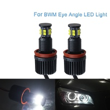 For BMW X5 E70 X6 E71 E90 E91 E92 M3 E89 E82 E87 120W Angel Eyes light Headlight Lamp стоимость