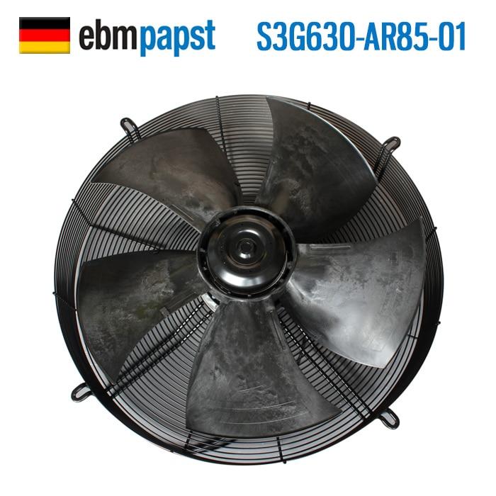 New Spot Ebmpapst S3G630-AR85-01 380V 970W Outer Rotor Waterproof Fan 630MM 970W 380V Axial Fan
