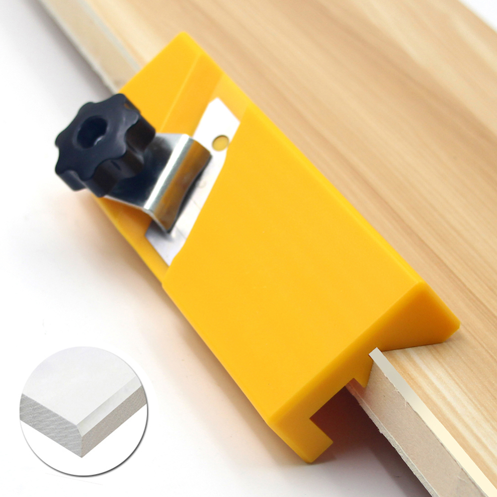 1 Pcs Plasterboard Edge  Tool ABS Drywall Edge Chamfer Woodworking Hand Tool Standard 90 Degree Quick Edge Trimming