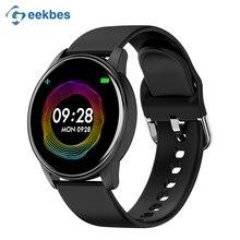 Geekbes G5 Bluetooth Smart Watch 1.3 Inch Men Women Sports Watch Heart Rate Monitor PK Q8 Q9