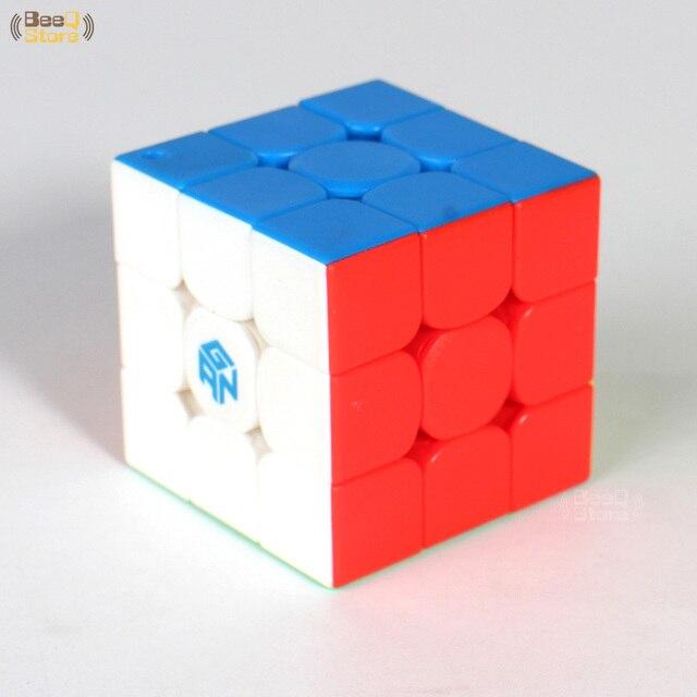 GAN330 Speed Cube 3x3x3 Keychain Cube 3x3 Cubo Magico 3x3x3 Magic Cubes GAN 330 Speedcube Cubeing Cuber Puzzle Toy 3