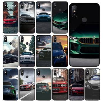 Blue Red Car For Bmw Phone Case For Redmi 7A 4X 5 6 7 8 8A 5Plus GO Note 4/4X 7 K20/Pro Case image