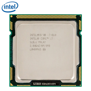 Intel Core i7 860 i7-860 Quad-Core CPU 2.8GHz 8MB LGA 1156 95W Processor tested 100% working
