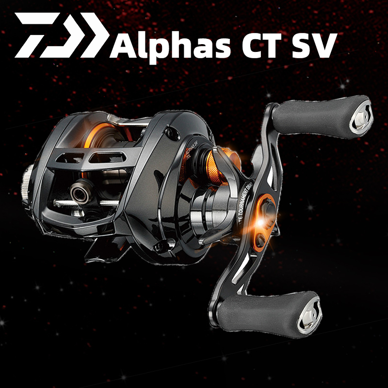 2019 new DAIWA ALPHAS CT SV fresh water dripping wheel fishing reel fishing recommended