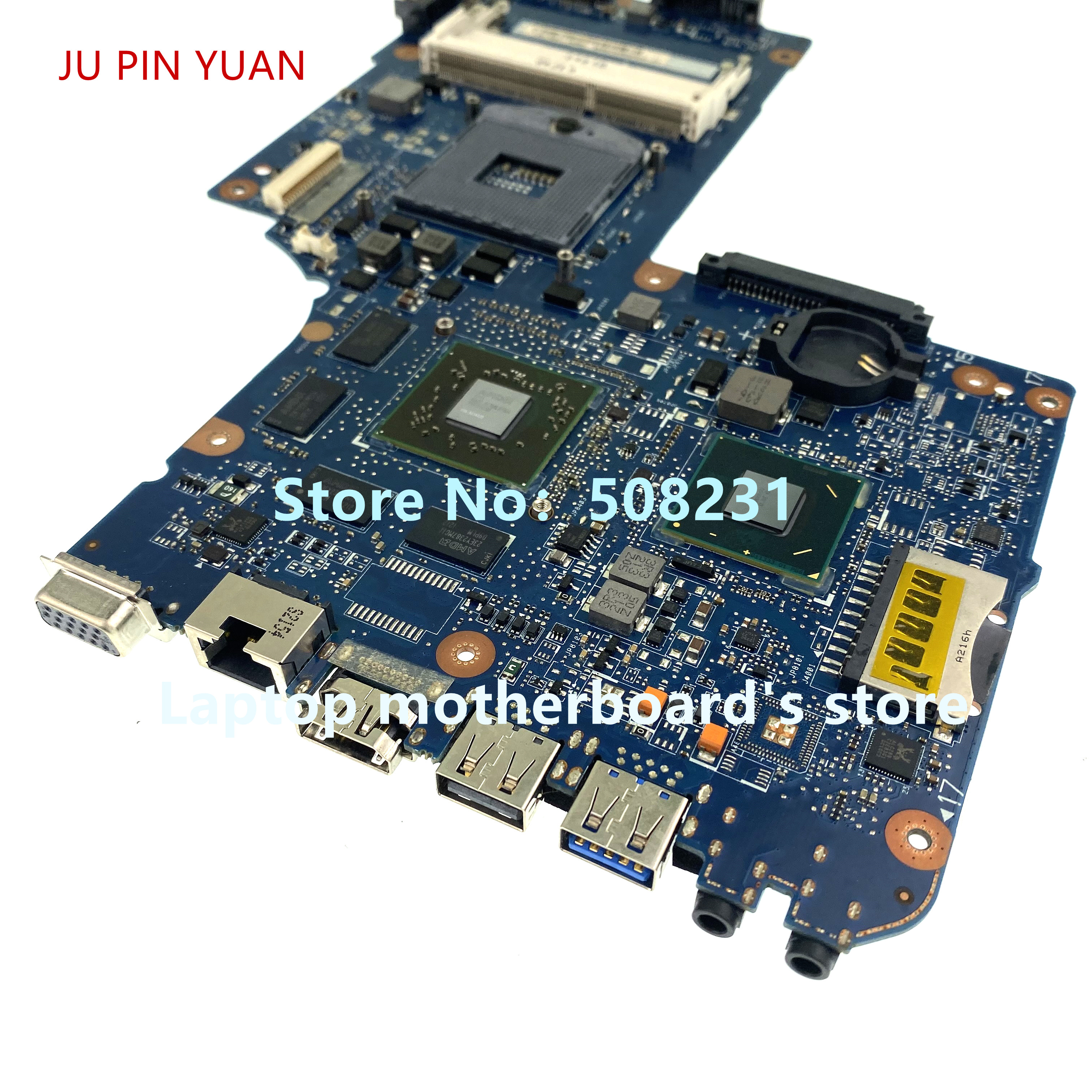 JU PIN YUAN H000052630 H000050770 For Toshiba Satellite L850 C850 C855 Laptop Motherboard 100% Fully Tested