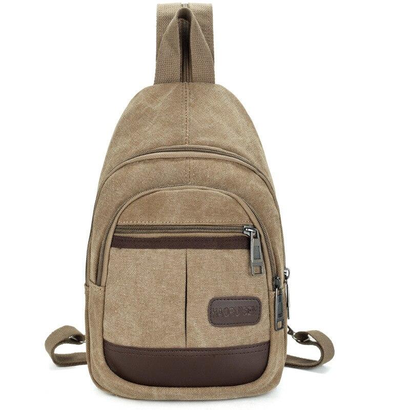 PUIMENTIUA Mochila Backpack Chest-Bag Shoulder-Bags Multifunction Male