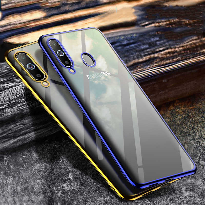 Роскошные лазер для samsung Galaxy A30 A20 A50 A10 A70 A40 M20 A50 A20e S10 S8 S9 Plus Note 10 A6 A7 Чехол Покрытие чехол из силикона и ТПУ