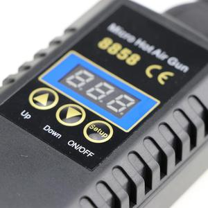 Image 2 - Neue 8858 Hot Air Gun Einstellbare LED ESD Tragbare Konstante Temperatur BGA Rework Solder Station Heat Gun