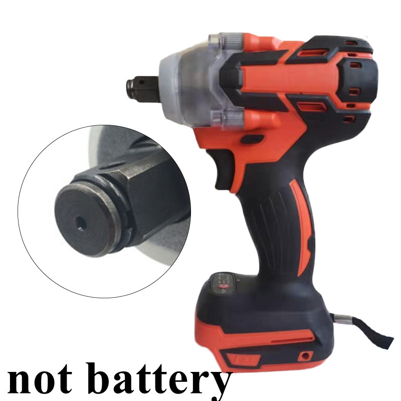 Cordless 1280W Brushless Adjustable 240-520NM Electric Hammer Drill 11