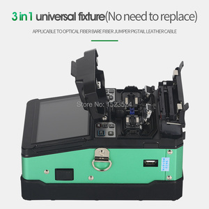 Image 3 - A 81S Green Automatic Fusion Splicer Machine Fiber Optic Fusion Splicer Fiber Optic Splicing Machine