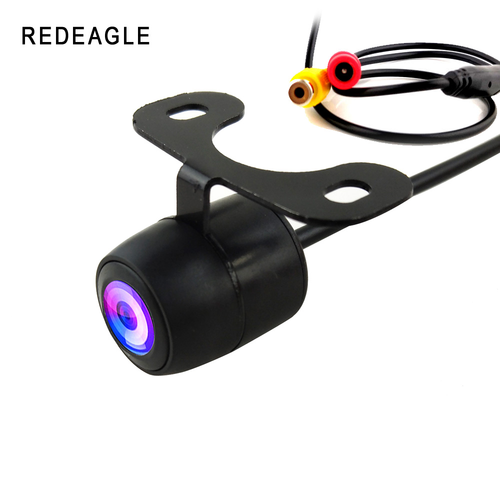 REDEAGLE Outdoor Waterproof Camera Mini Analog Security Camera Wide Angle Front View Camera Without Guide Line