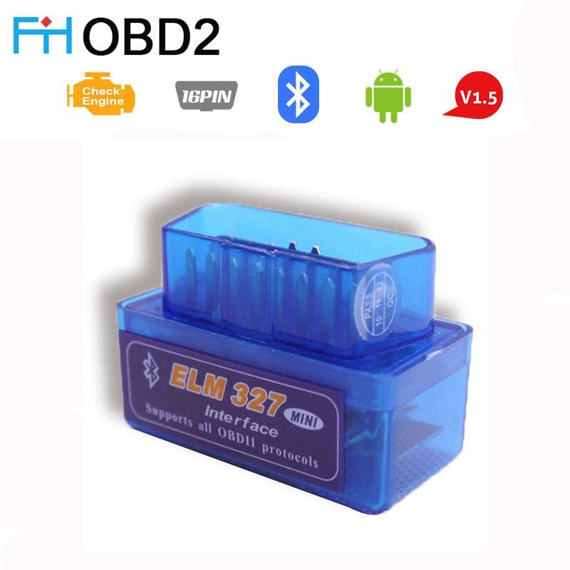 OBD2 Scanner ELM327 Mini Bluetooth OBDII Code Reader Sauber ELM327 Auto Diagnose Werkzeuge Für Android Symbian Scan Werkzeuge