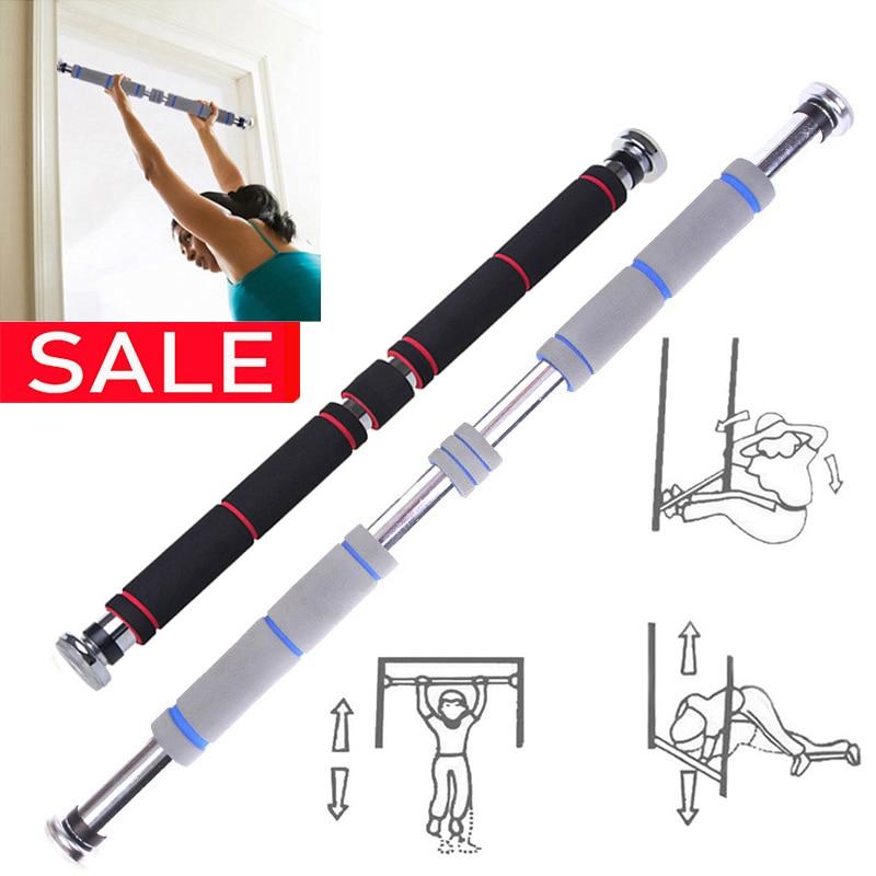 Door Horizontal Steel Adjustable Training Bars For Home Sport Bar Workout Pull Up Arm Training Bar Fitness Push Up Equipm AAA|Horizontal Bars|   - AliExpress