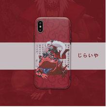 Gama Sennin teléfono caso para Iphone 7 8 Plus X XR XS Max 11 Pro 12 mini Japón Anime suave de TPU