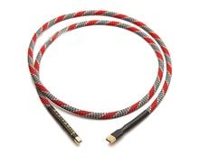 Cable de audio USB Chapado en plata QED OCC de alta gama, cable USB de datos DAC, cable USB hifi A B
