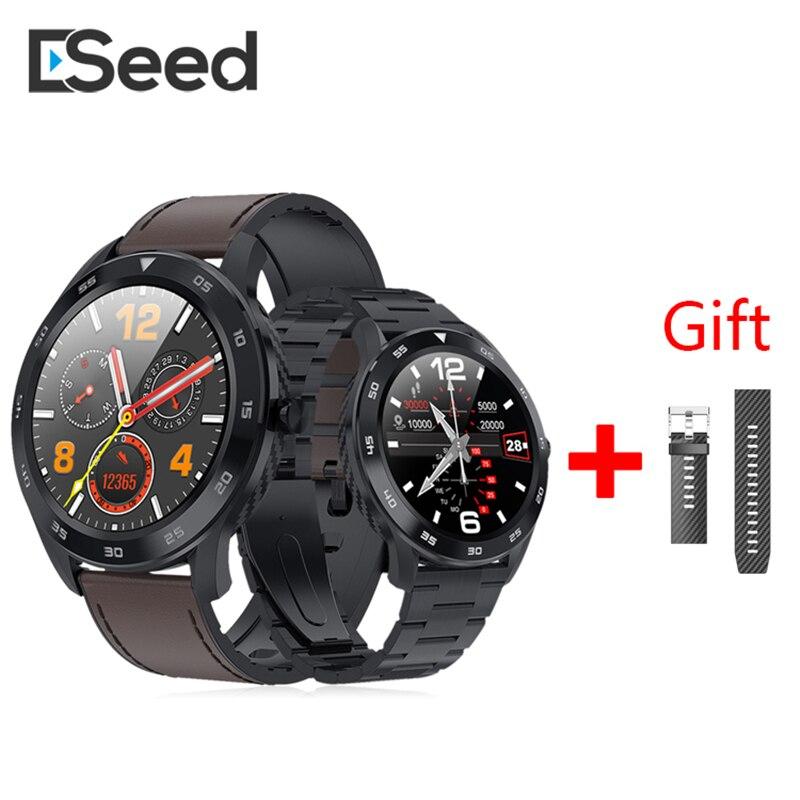 Eseed DT98 montre intelligente hommes 300mah batterie longue veille Bluetooth appel fréquence cardiaque montre intelligente pour android ios