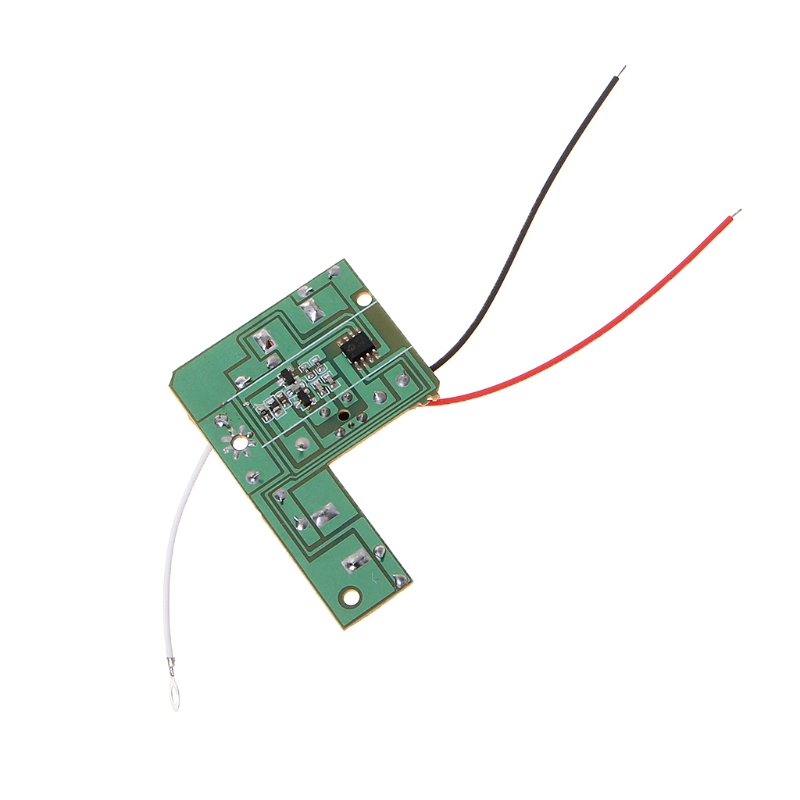 4CH <font><b>40MHZ</b></font> Remote Transmitter & Receiver Board with Antenna for DIY RC Car Robot Y4QA image