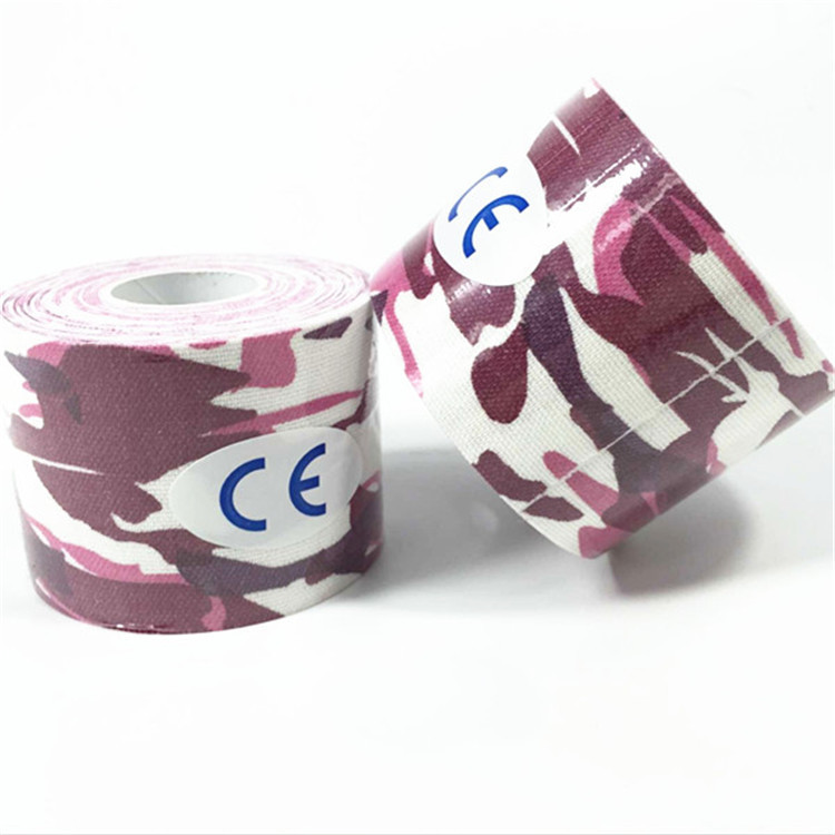 Kinesiology Tape Camouflage Elastic Sports Bandage Muscle Paste Kinesio Taping Adhesive Tape Kinesio Taping