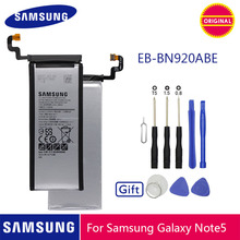 SAMSUNG Batteria Del Telefono Originale EB BN920ABE 3000mAh Per Samsung Galaxy Note 5 N920 N920A N920T N920I N920G N920V N9200 N9208