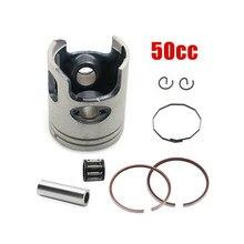 Для Jog Minarelli Yamaha 2-тактный Скутер мопед 50CC 40 мм поршневое кольцо 10 мм наручный штифт подшипник 50cc мотовездеход
