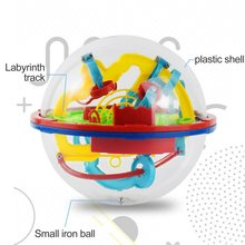3D Puzzle Magic Maze Ball 299 Level Perplexus Magical Intellect Marble Puzzle Game IQ Balance Educational Toys for Kids цена 2017