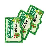 Telefone móvel bonito do cartão 128 gb 256 gb 512 gb 8 gb 16 gb da memória 32 gb 64 gb para o cartão micro sd para o presente de natal