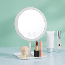 2020 LED Makeup Mirror Light Dressing Table Mirror Beauty 2 Modes Ring Light Mirror Beauty Tools Photo Fill Light Small Mirrors folding makeup mirror with led light 5 times magnifying cosmetic mirror beauty ring light mirror photo fill light small mirrors