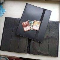 360 карт, вместительный Карманный держатель, переплетные Альбомы для CCG MTG Magic Yugioh, настольная игра, карточная книга, рукав, держатель