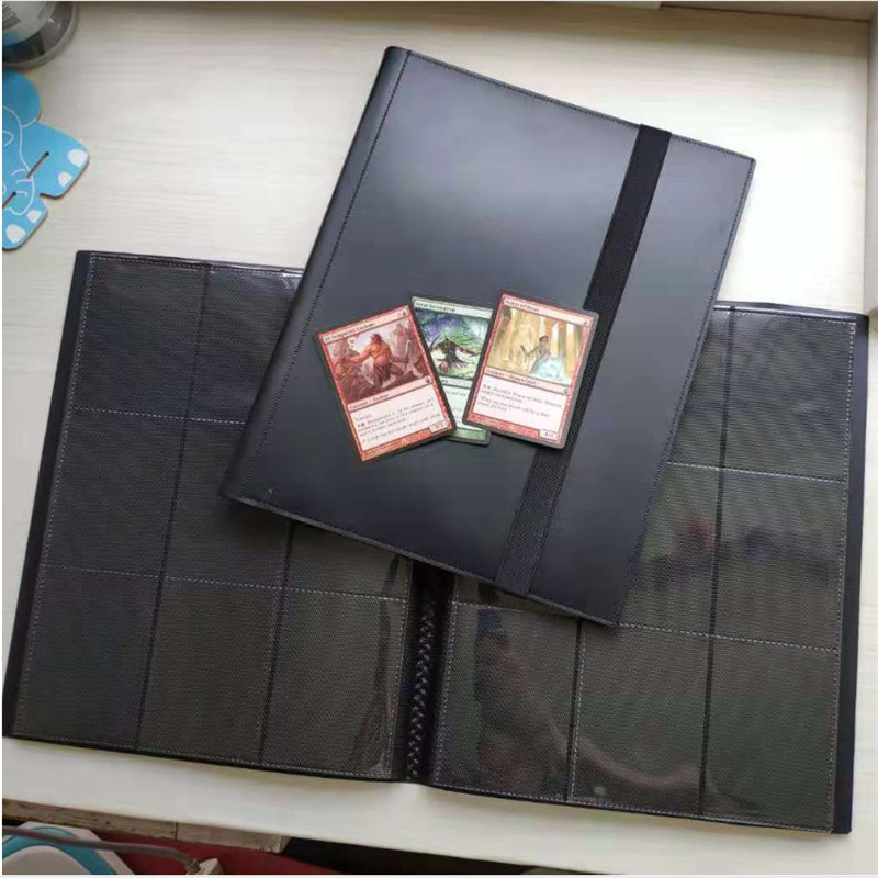 360 Cards Capacity Pocket Holder Binders Albums For CCG MTG Magic Yugioh Board Game Card Book Sleeve Holder