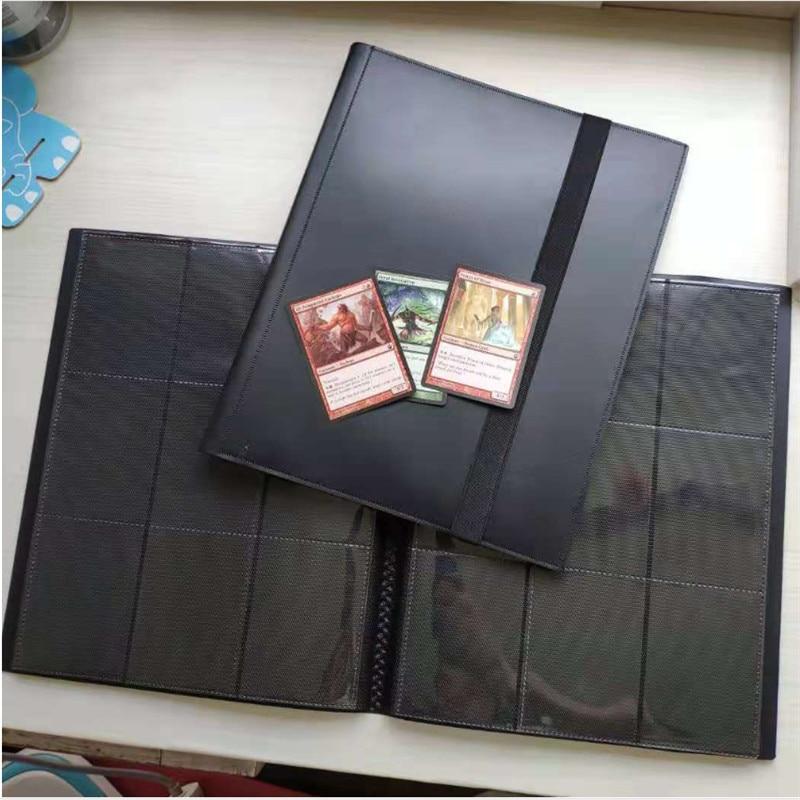 Image 2 - 360 карт вместительный Карманный держатель связывающие Альбомы для CCG MTG Magic Yugioh настольная игра карта Книга рукав держательНастольные игры   -