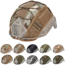 цена на Tactical Helmet Cover for  Fast MH PJ BJ Helmet Airsoft Paintball Army Helmet Cover Military Accessories
