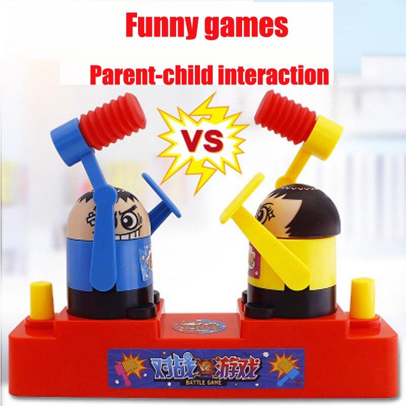 Смешная Шутка детская борьба сражение Антистресс игрушка бокс взаимодействие родителей и детей игра на стол вечерние детские игрушки пода...