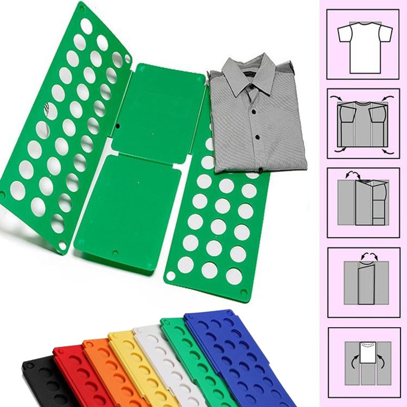 Adult Magic Clothes Folder T Shirts Jumpers Organiser Fold Save Time Quality Quick Clothes Folding Board Clothes Holder 3 Sizes
