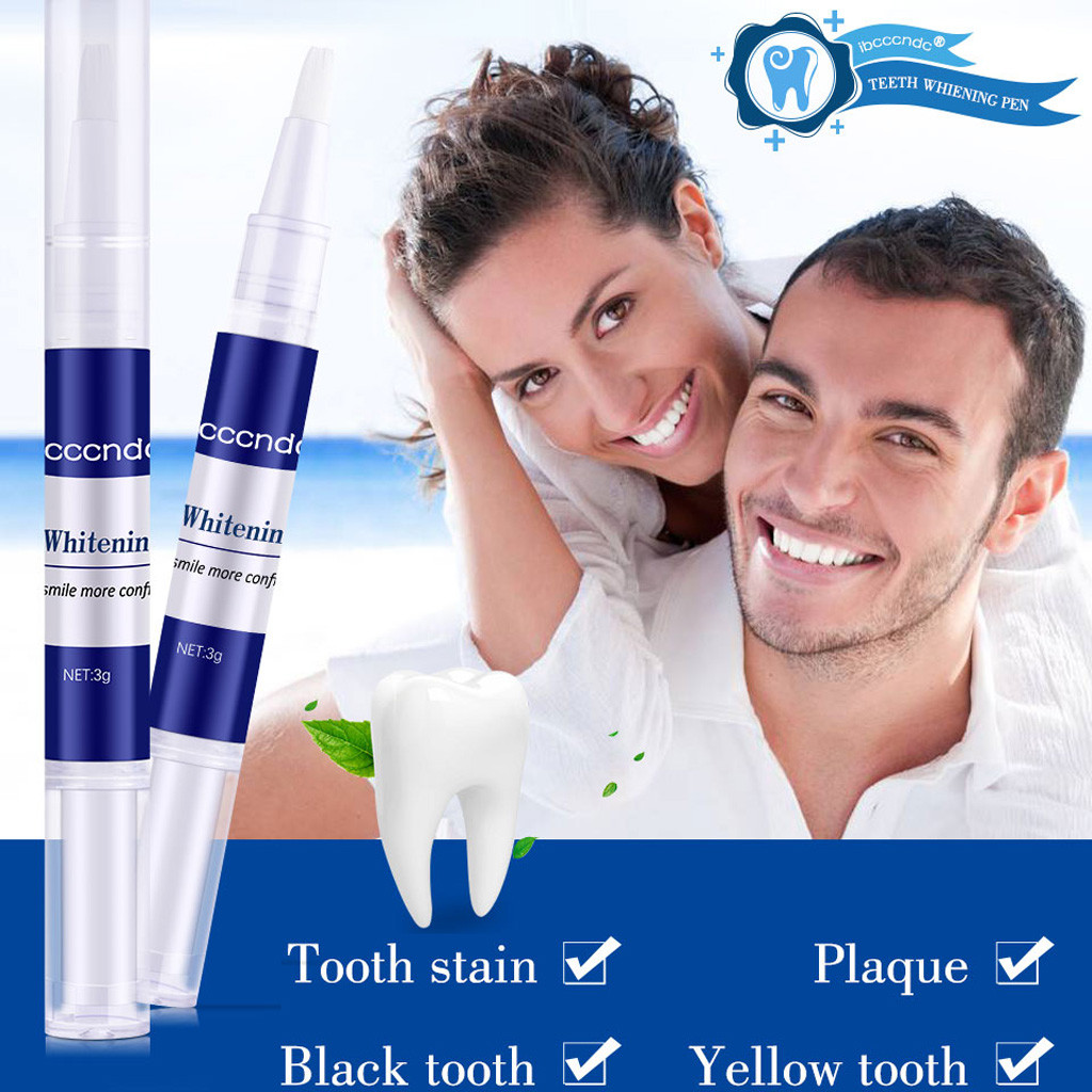 Whitening Beauty Toothpen Dental Care Powerful Removal Of Yellow Teeth To Ttai Removes Stains gentle cleaning to polish tee